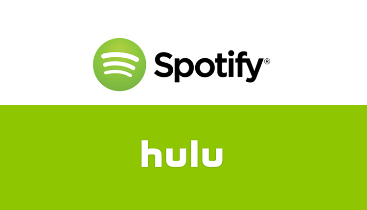 spotify and hulu join forces to draw more subscribers to their platforms talkmedia africa. Black Bedroom Furniture Sets. Home Design Ideas