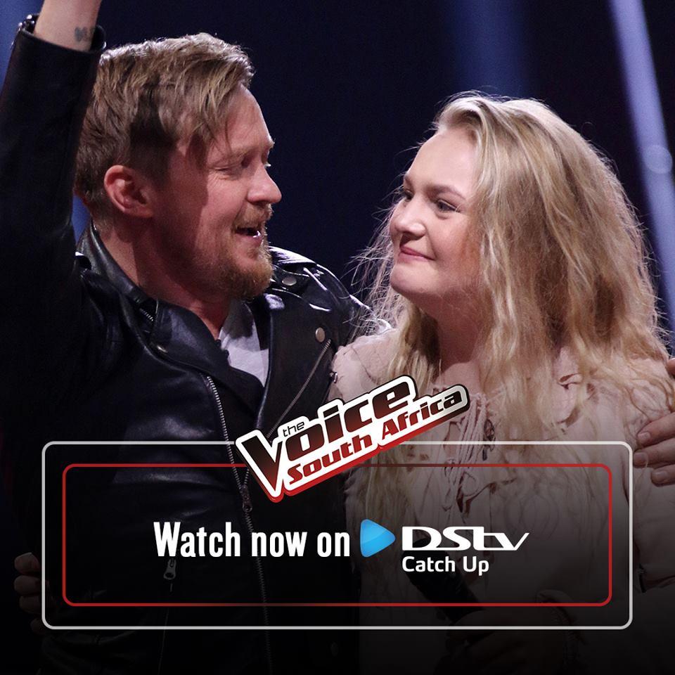 VIDEO The Voice SA Season 3 Finally A WIN For Team Van Coke